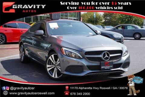 2017 Mercedes-Benz C-Class for sale at Gravity Autos Roswell in Roswell GA