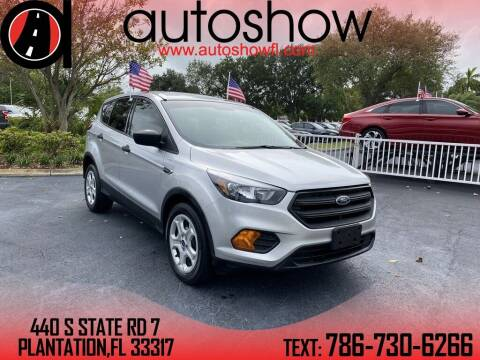 2019 Ford Escape for sale at AUTOSHOW SALES & SERVICE in Plantation FL