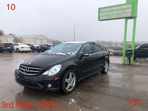 2010 Mercedes-Benz R-Class for sale at Independent Auto in Belle Fourche SD
