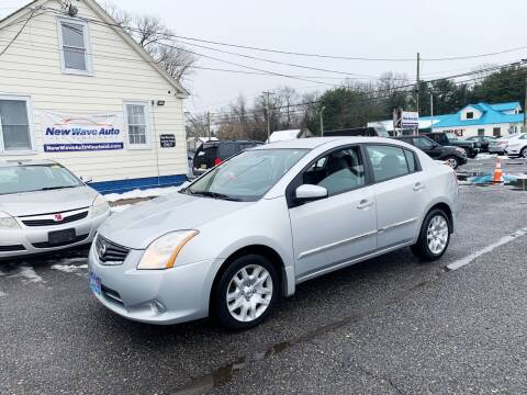 2011 Nissan Sentra for sale at New Wave Auto of Vineland in Vineland NJ