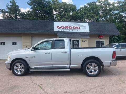 2016 RAM Ram Pickup 1500 for sale at Gordon Auto Sales LLC in Sioux City IA