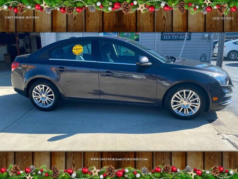 2016 Chevrolet Cruze Limited for sale at Grey Horse Motors in Hamilton OH
