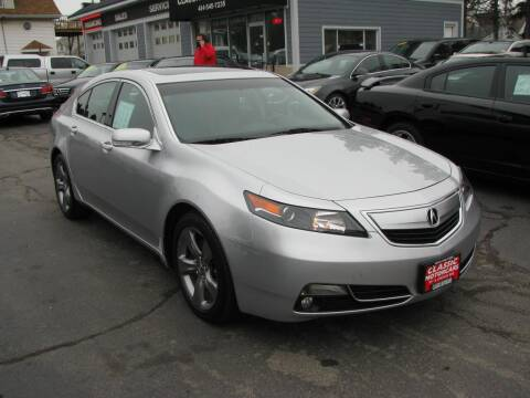 2013 Acura TL for sale at CLASSIC MOTOR CARS in West Allis WI