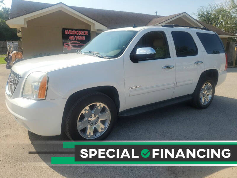 2012 GMC Yukon for sale at Brocker Autos in Humble TX
