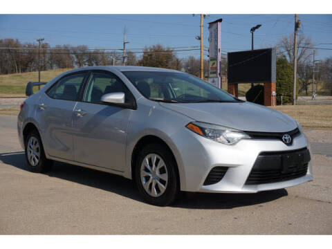 2015 Toyota Corolla for sale at Sand Springs Auto Source in Sand Springs OK