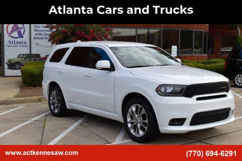 2019 Dodge Durango for sale at Atlanta Cars and Trucks in Kennesaw GA