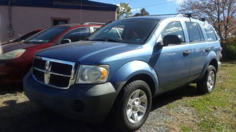 2008 Dodge Durango for sale at Jan Auto Sales LLC in Parsippany NJ