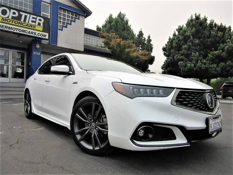 2019 Acura TLX for sale at Top Tier Motorcars in San Jose CA