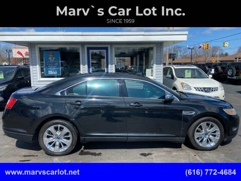2010 Ford Taurus for sale at Marv`s Car Lot Inc. in Zeeland MI