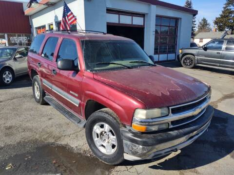 2002 Chevrolet Tahoe for sale at Direct Auto Sales+ in Spokane Valley WA
