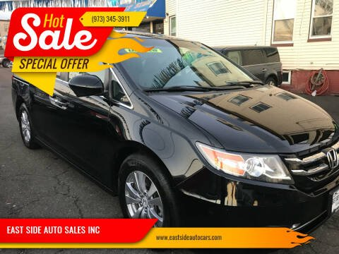 2014 Honda Odyssey for sale at EAST SIDE AUTO SALES INC in Paterson NJ