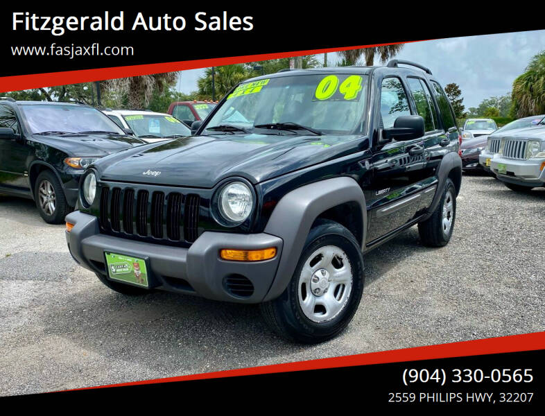 2004 Jeep Liberty for sale at Fitzgerald Auto Sales in Jacksonville FL