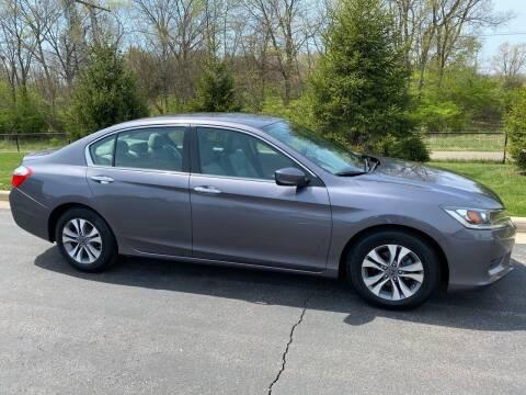 2015 Honda Accord for sale at Encore Auto in Niles MI