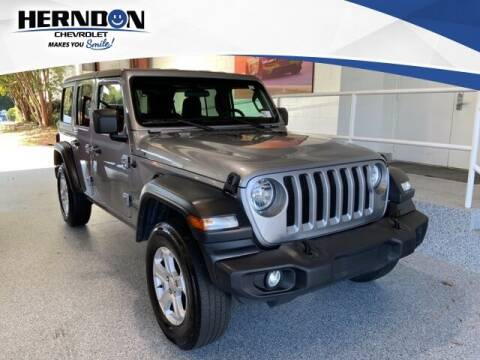 2019 Jeep Wrangler Unlimited for sale at Herndon Chevrolet in Lexington SC