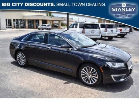 2020 Lincoln MKZ for sale at STANLEY FORD ANDREWS in Andrews TX