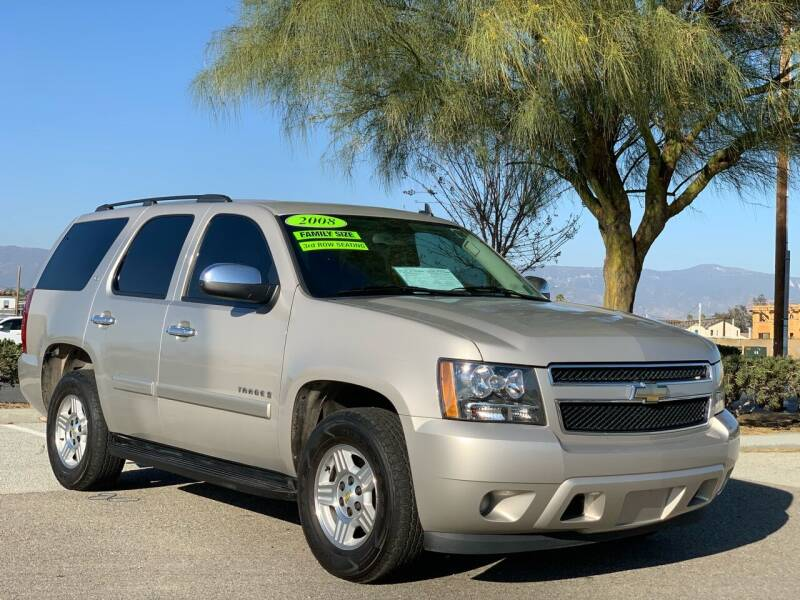 2008 Chevrolet Tahoe for sale at Esquivel Auto Depot in Rialto CA
