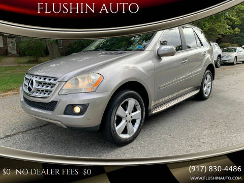 2009 Mercedes-Benz M-Class for sale at FLUSHIN AUTO in Flushing NY