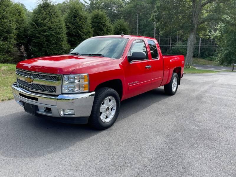 2013 Chevrolet Silverado 1500 for sale at DON'S AUTO SALES & SERVICE in Belchertown MA
