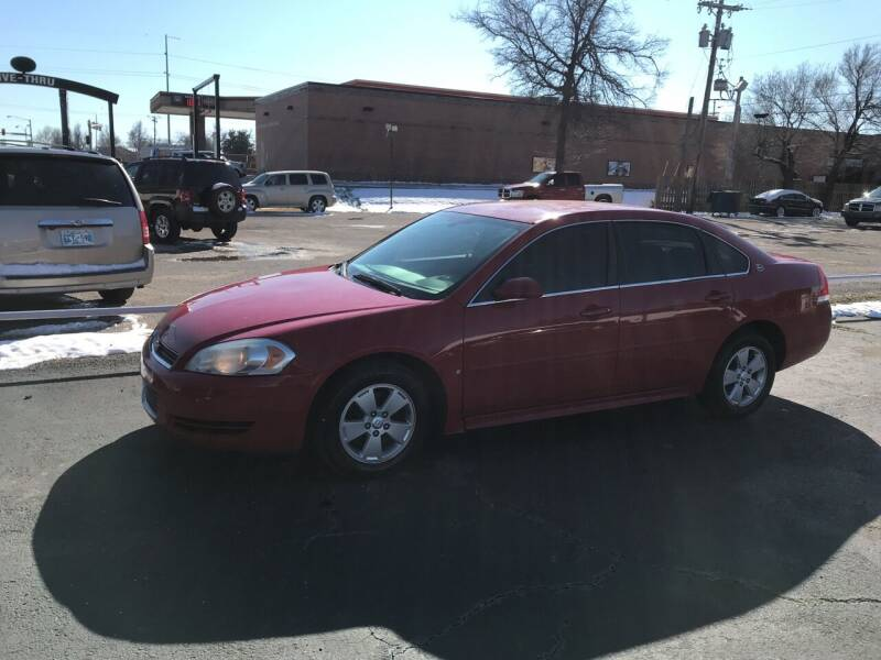 2009 Chevrolet Impala for sale at MADISON MOTORS in Bethany OK