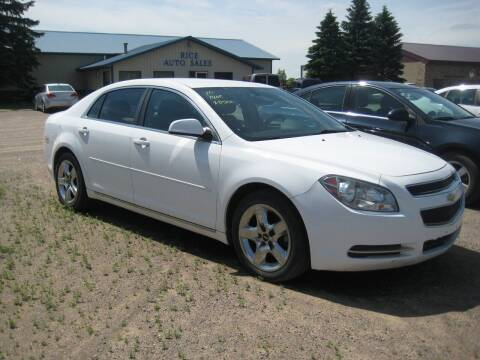 2010 Chevrolet Malibu for sale at Rice Auto Sales in Rice MN