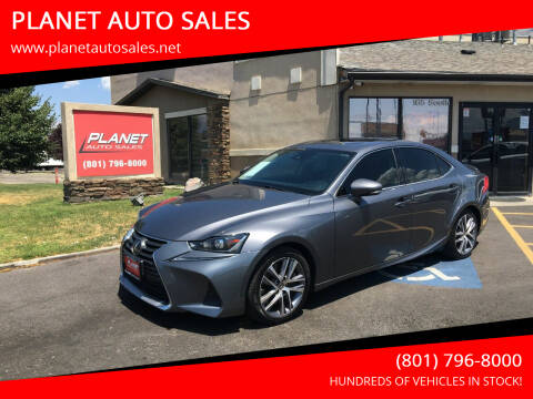 2018 Lexus IS 300 for sale at PLANET AUTO SALES in Lindon UT