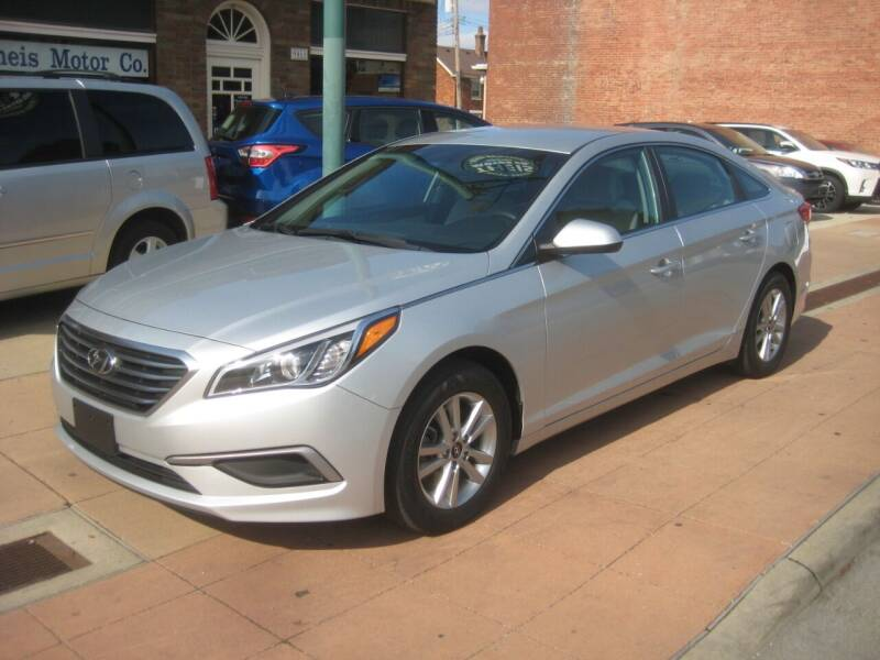 2017 Hyundai Sonata for sale at Theis Motor Company in Reading OH