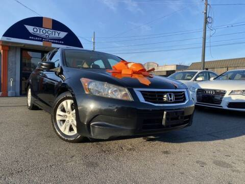 2008 Honda Accord for sale at OTOCITY in Totowa NJ