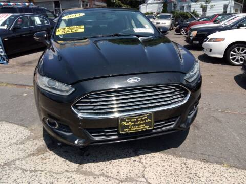2013 Ford Fusion Energi for sale at Rallye  Motors inc. in Newark NJ
