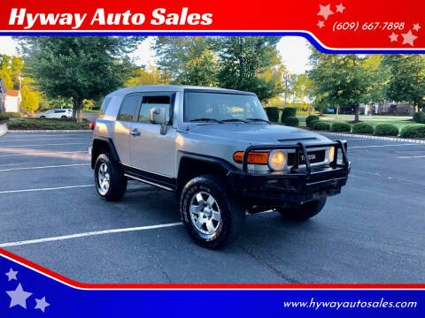 2007 Toyota FJ Cruiser for sale at Hyway Auto Sales in Lumberton NJ