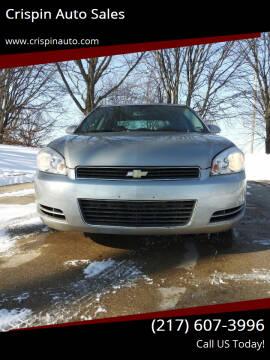 2008 Chevrolet Impala for sale at Crispin Auto Sales in Urbana IL