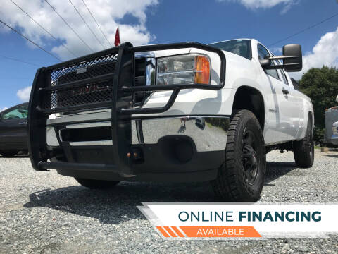 2013 GMC Sierra 2500HD for sale at Prime One Inc in Walkertown NC