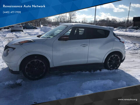 2015 Nissan JUKE for sale at Renaissance Auto Network in Warrensville Heights OH