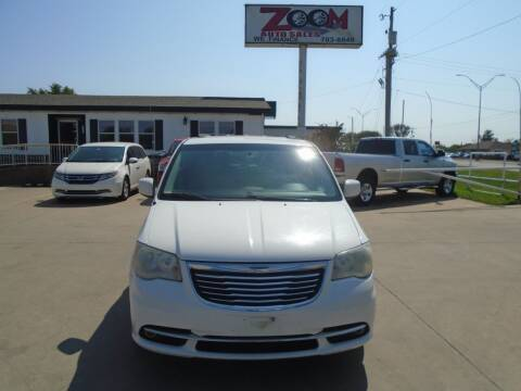 2012 Chrysler Town and Country for sale at Zoom Auto Sales in Oklahoma City OK