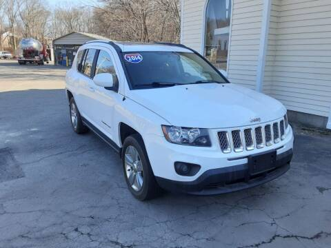 2014 Jeep Compass for sale at Allan Auto Sales, LLC in Fall River MA