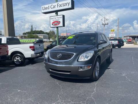 2012 Buick Enclave for sale at Used Car Factory Sales & Service in Port Charlotte FL