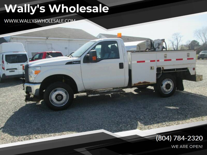 2011 Ford F-350 Super Duty for sale at Wally's Wholesale in Manakin Sabot VA