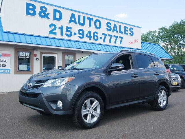 2014 Toyota RAV4 for sale at B & D Auto Sales Inc. in Fairless Hills PA