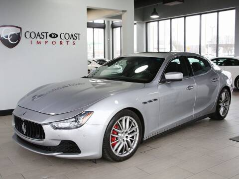 2015 Maserati Ghibli for sale at Coast to Coast Imports in Fishers IN