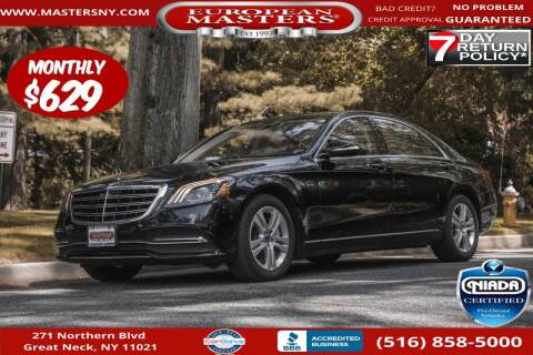 2018 Mercedes-Benz S-Class for sale at European Masters in Great Neck NY