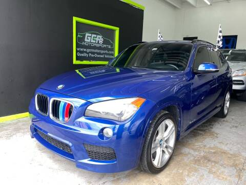2014 BMW X1 for sale at GCR MOTORSPORTS in Hollywood FL