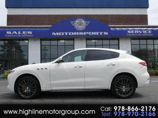 2017 Maserati Levante for sale at Highline Group Motorsports in Lowell MA