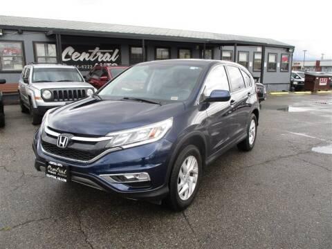 2015 Honda CR-V for sale at Central Auto in South Salt Lake UT