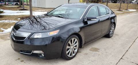 2014 Acura TL for sale at Western Star Auto Sales in Chicago IL