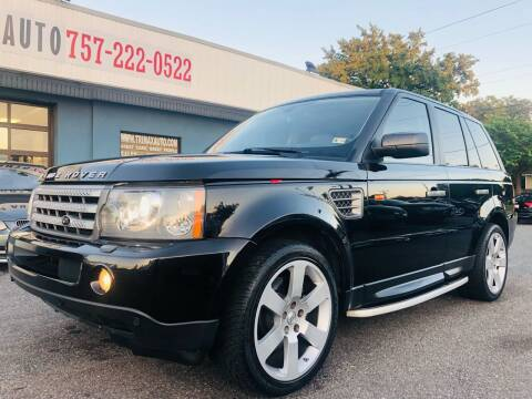 2007 Land Rover Range Rover Sport for sale at Trimax Auto Group in Norfolk VA