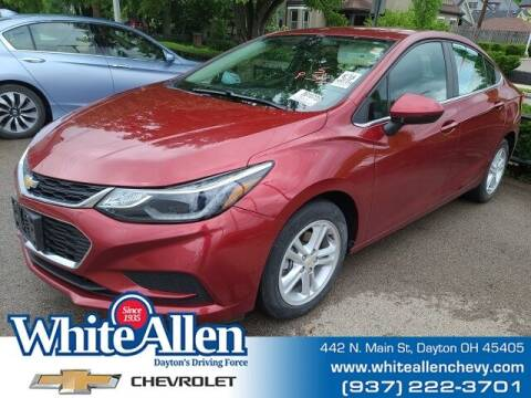 2018 Chevrolet Cruze for sale at WHITE-ALLEN CHEVROLET in Dayton OH