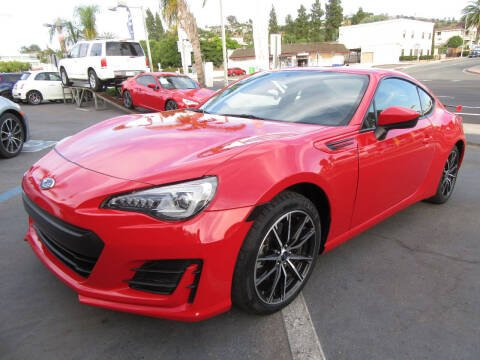 2017 Subaru BRZ for sale at Eagle Auto in La Mesa CA
