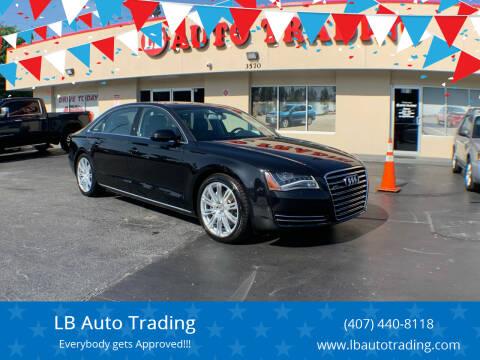 2013 Audi A8 L for sale at LB Auto Trading in Orlando FL