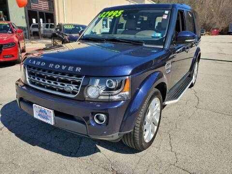 2016 Land Rover LR4 for sale at Auto Wholesalers Of Hooksett in Hooksett NH