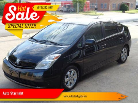 2005 Toyota Prius for sale at Auto Starlight in Dallas TX