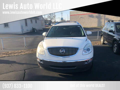 2008 Buick Enclave for sale at Lewis Auto World LLC in Brookville OH